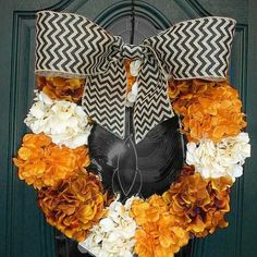Halloween Colored Hydrangeas