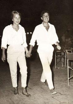Leonard Cohen & Marianne Ihlen Hydra, Greece