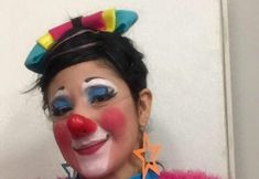 Clown Pics, Female Clown, Clowns, Cat Ears, Carnival, Lady, Girls, Painting, Little Girls