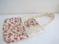 Bolsa do 1º desafio no blog Eu amo costurar. Tutorial por Stella Hoff Patchwork. Do dia 01/11/2013 a 20/11/2013.