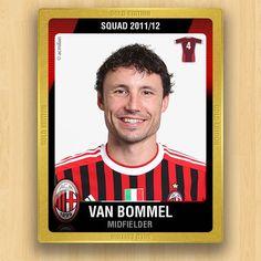 A.C. Milan Collections - Van Bommel Mark
