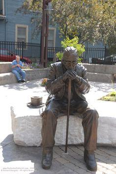 Statue Of Mercury Rochester Ny Photo Wes Plant Art