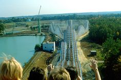 """Kings Dominion – """"Rebel Yell"""" Roller Coaster"""