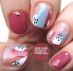 OPI Iceland Abstract Splodges