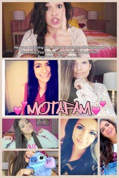 Bethany is beautiful and smart!! I watch her videos EVERYDAY!! She gives me SO MUCH inspiration!! Like if you ❤️LOVE❤️ Bethany and her clothing line @ Aèropostale!! #Motavator and MOTAFAM❤️ I love ya Bethers!!!