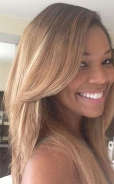 She likes to use the ash blonde hair color. Her natural hair color is black, dark brown eyes. Share the joy Share the joy Gabrielle Union Hairstyles, Ash Blonde Hair, Brown Blonde, Blonde Weave, Blonde Color, Platinum Blonde, Brown Hair, Blonder Bob, Natural Hair Styles