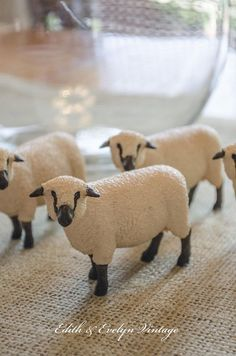 DIY Sheep Decor......From the Toy Store