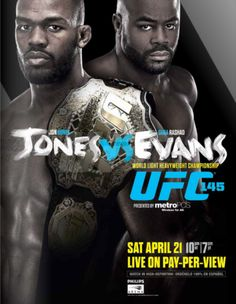 Featured is a SIGNED Jon Bones Jones UFC 145 Poster Photo. This item was hand-signed by Jones at a private signing and witnessed by a PSA/DNA representative. This item includes PSA/DNA Hologram Ufc Live Stream, Brendan Schaub, Jon Bones, Ufc Events, Mma Fighting, Movie Posters, Sport