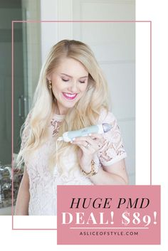 The biggest deal you can find for the PMD is going on right now! I use this every week to prevent aging, have smooth skin, and it keeps my skin clear! It is one of the best parts of my beauty routine and right now is the time to get it! Personal Microdermabrasion   Anti-aging routine   Beauty routine   HUGE sale   PMD sale   Pay less