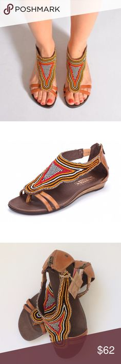 NWT Pikolinos Boho Sandals NWT Pikolinos Boho Beaded Sandals...A trend-forward thong sandal decorated with intricate beadwork in bold colors is made from smooth, supple leather. The cushioned footbed and flexible sole provide all-day comfort. Color(s): brandy leather, yellow, orange, red beads...Style Name:Pikolinos 'Alcudia' Beaded Sandal (Women). Euro size 40 (9.5-10). Retail $199 PIKOLINOS Shoes Sandals