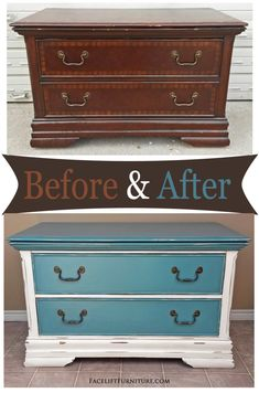 Repurposed armoire chest in distressed sea blue with black glaze - Before and Af. - - Repurposed armoire chest in distressed sea blue with black glaze – Before and After from Facelift Furniture <! Repainting Furniture, Refurbished Furniture, Paint Furniture, Repurposed Furniture, Cheap Furniture, Furniture Projects, Furniture Makeover, Furniture Plans, Antique Furniture