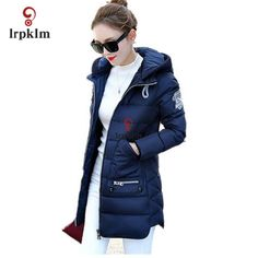 ==> [Free Shipping] Buy Best Big Size 7XL Winter Jacket Women 2017 New Europe Style Hooded Slim Medium Long Winter Plus Size Parkas Lady Top Coat Hot YY285 Online with LOWEST Price | 32769914534