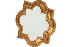 I love quatrefoil mirrors!  I have two in our formal living room.  Would love to put this one above our bed!