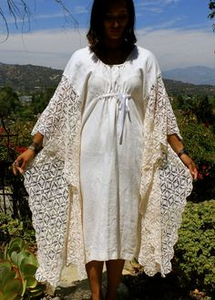 Honeywood ORIGINAL One of Kind Bohemian 3/4 Caftan by Vdingy