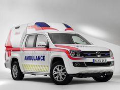 2011 Volkswagen Amarok Ambulance