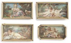 Impressionist, Modern Art, Auction, Miniatures, Scene, Prints, Painting, Painting Art, Impressionism