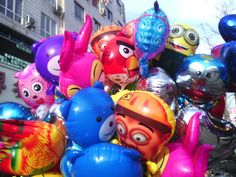 吉林 (=^・・^=) 集安 (¯(●●)¯) 氣球 o(︶︿︶)o 真好看 o(≧o≦)o