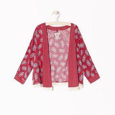 Cardigan façon kimono