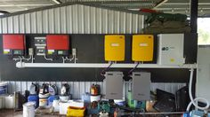 2 phase SMA LG off-grid system with 10.5kW of PV