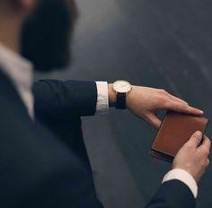 A watch that suits the sharp dresser.