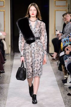 Tods Fall 2015. See the best looks from Milan Fashion Week here: