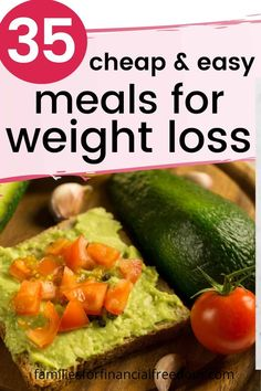 cheap meals for weight loss Cheap Meal Plans, Cheap Easy Meals, Frugal Meals, Budget Meals, Money Budget, Cheap Food, Frugal Recipes, Cheap Recipes, Low Calorie Meal Plans