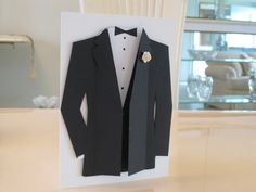 TLC391 Tuxedo Card by ctorina - Cards and Paper Crafts at Splitcoaststampers
