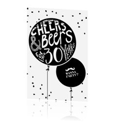 Stoere zwart wit uitnodiging voor 30e verjaardag Holiday Parties, 30th, Cheer, Birthdays, Backgrounds, Holidays, Happy, Quotes, Gold