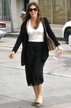 Jessica Biel from The Big Picture: Today's Hot Pics  The actress and restauranteur is all smiles while running errands in Beverly Hills.