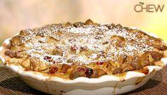 Clinton Kelly's Apple Cranberry Cobbler #thechew