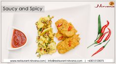 Live Life With A Little Spice ! #SpicyFood #Saucy #Snacks #Restaurant #IndianFood #Foodie #FoodPorn #ChefFresh #Vienna #Austria Book Your Table Here: (+43)01-5133075