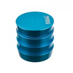 4 Piece 40mm Blue Sharper Tier Herb Grinder