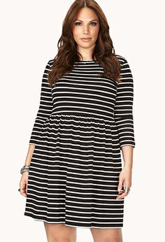 Shore Girl Striped Dress | FOREVER21 PLUS - Got this dress and LOVE IT!