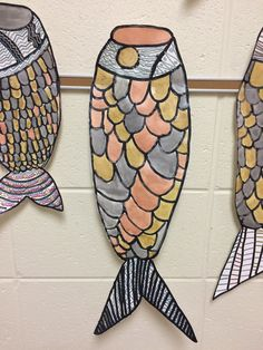 WHAT'S HAPPENING IN THE ART ROOM??: 5th Grade Asian Koi Carp Kites