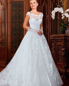 Country Western Dresses For Weddings Lace Back Wedding Gowns, 2016 Wedding Dresses, Princess Wedding Dresses, Bridal Dresses, Dresses 2016, Tulle Wedding, Gown Wedding, Princess Bridal, Vintage Princess