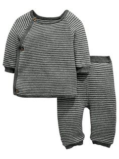 475b05785 Mini V by Very Baby Boys Soft Knitted Stripe Twosie | very.co.uk