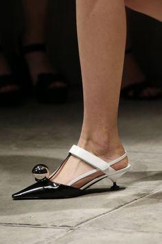18c44a8d4 Prada Spring 2016 Ready-to-Wear Accessories Photos - Vogue · Prada SpringBeautiful  ShoesShoes SandalsShoe ...