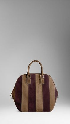 Burberry Prorsum The Orchard in suede stripes