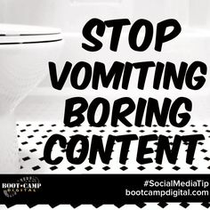 Giving people interesting content will get them engaged! Don't waste time w boring content. https://instagram.com/p/xhK29ct2Yp