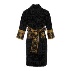 Buy your black cotton lingerie Versace on Vestiaire Collective, the luxury consignment store online. Second-hand Black cotton lingerie Versace Black in Cotton available. Versace Bathrobe, Versace Bedding, Cotton Lingerie, Textiles, Versace Men, Designer Lingerie, Black Cotton, Passion For Fashion, Lounge Wear
