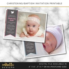 This listing is for a baptism christening invitation printable card. Digital File, PDF, DIY, baby thank you card, Boy Thank you card, Girl Thank you card, 4 x 6, 5 x 7, A6 invite card, digital invitation,dove printable, Christening invitation, Baptism invitation, Naming day invitation, Digital File, PDF, DIY, 4 x 6, 5 x 7, baptism card, christening card, pdf  --DETAILS--  This listing is for a 4 x 6 inch, 5 x 7 inch or A6 (postcard size) digital invitation customized with your message…