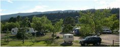 Turquoise Trail Campground - Fall 2013