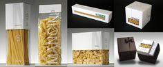 Packaging pasta mancini by Simona Salvò, via Behance