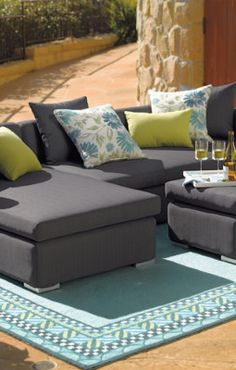 Monaco Outdoor Seating Collection.