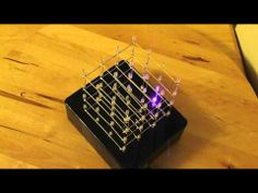 Arduino Uno 4x4x4 LED Cube