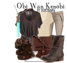 """Obi Wan Kenobi"" by lalakay ❤ liked on Polyvore"