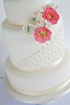 Ranunculus Wedding Cake | Flickr – Compartilhamento de fotos!