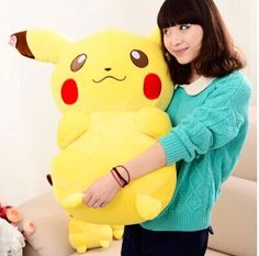 Peluche Pikachu gigante 80cm