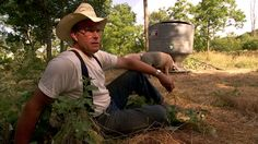 Joel Salatin in FOOD, INC., a Magnolia Pictures release. Photo courtesy of Magnolia Pictures.