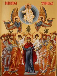 South Indian Heroine, Religious Icons, Catholic Art, Orthodox Icons, Celestial, Scene, Angel, Ikon, Religious Pictures